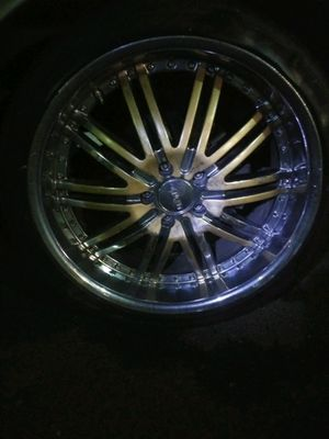 20' chrome Rims custom you pick ur color for Sale in Kent, WA