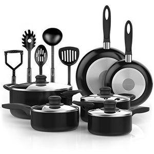 New The Sizzla Cookware Set Vremi 15 Piece Nonstick, Oven Safe, Ollas, Sartenes for Sale in Miami, FL