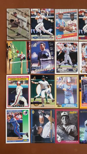 Baseball Cards - Andres Gallaraga for Sale in Noblesville, IN