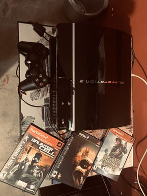Ps3 Fat Backwards Capable CECHE01... for Sale in Las Vegas, NV
