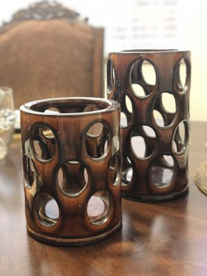 Candle holders/vases for Sale in Manteca, CA
