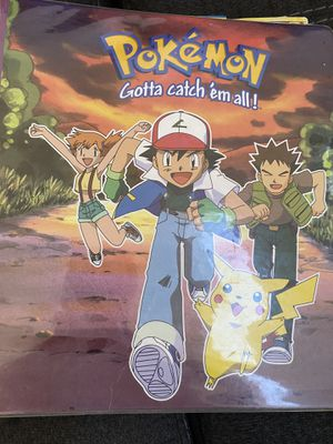 Pokemon cards with binder 6 Holograms for Sale in Las Vegas, NV