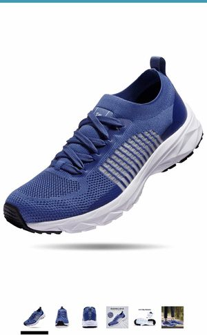 Mens Lightweight Running Shoes Athletic Tennis Slip on Walking Shoes Breathable Casual Fashion Sneakers for Sale in Queens, NY