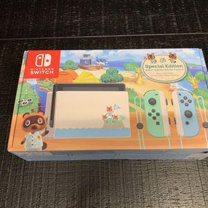 Nintendo Switch (Animal Crossing Edition) for Sale in Hialeah, FL