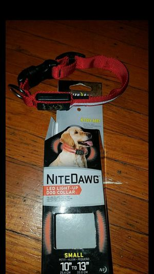 led light up dog collar for Sale in Oakland, CA