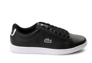 New beautiful Lacoste black leather sneakers, sz. 9 for Sale in Silver Spring, MD