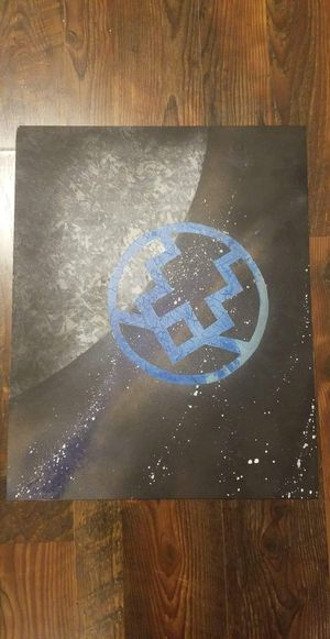 Black bolt painting for Sale in Mount Vernon, OH