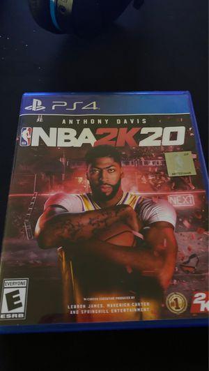 NBA 2k20 10 $ for Sale in Trumansburg, NY