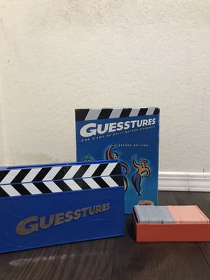 Guesstures Game Board for Sale in Rowland Heights, CA