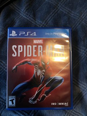 Spider-Man ps4 for Sale in Newman, CA