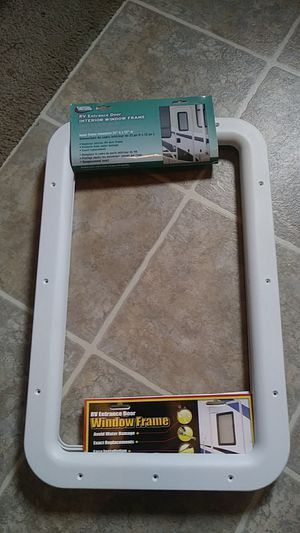 New..RV Travel Trailer or Motor Coach Door Window Frame for Sale in Swansea, MA