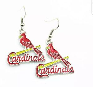 $12 new silver-plated STL Cardinal earrings for Sale in Ballwin, MO