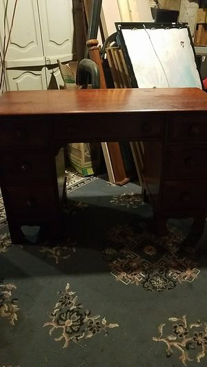 Antique solid wood desk for Sale in Columbus, OH