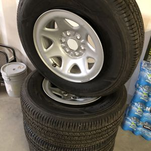 Wheels And Tires For Chevy for Sale in Madera, CA