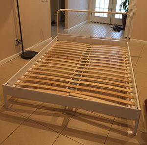 IKEA NESTTUN Queen Bed Frame for Sale in Azalea Park, FL