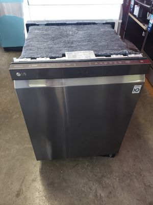 New LG Dishwasher Black stainless $0🏦🏡 for Sale in Irvine, CA