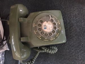 Vintage rotary phone green for Sale in Des Plaines, IL