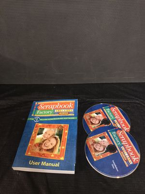Scrapbook Factory Deluxe 5.0 Computer Software for Sale in San Diego, CA
