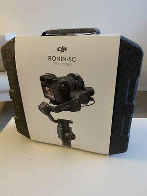 DJI Ronin SC Pro Combo for Sale in Miami, FL