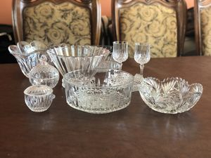 Crystal beautiful glass set for Sale in McLean, VA