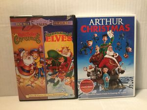 Christmas videos on DVD for kids for Sale in CT, US
