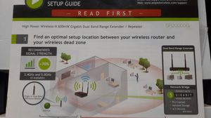 Wifi Extender 10000 sq ft wireless booster for Sale in Anaheim, CA