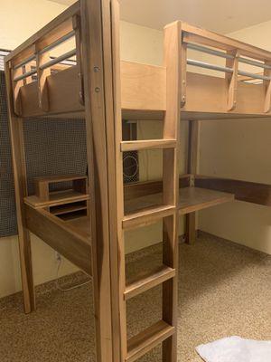 Bunk bed/desk for Sale in Bakersfield, CA