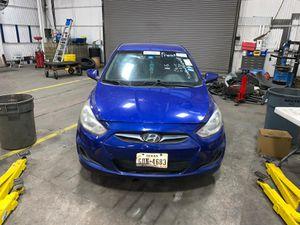 2013 Hyundai Accent 2012 2014 2015 2016 Door Hood Bumper Fender Headlight Tail light Mirror Engine Transmission Seat Wheel Rim Trunk Lid Glass Parts for Sale in Dallas, TX