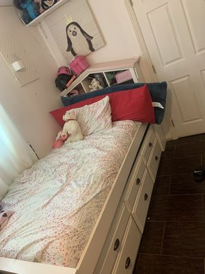 Kids doble twins beds bookcase for Sale in West Covina, CA
