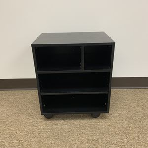 Rolling Printer Stand With Organizer Rack, Black. for Sale in Duluth, GA