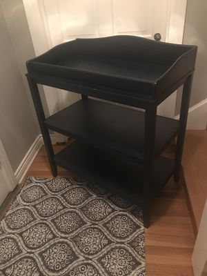 Pottery Barn Navy Changing Table for Sale in Pomona, CA
