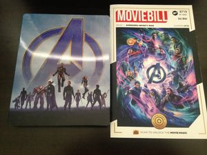 Avengers Infinity War and Endgame Blu Ray Steelbook for Sale in Fontana, CA