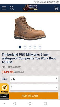 Timberland Pro O.b.o. for Sale in Oklahoma City,  OK