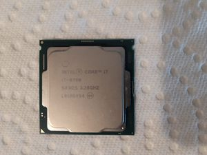 Intel i7-8700 8th Gen 3.2GHz 6-Core Desktop Processor for Sale in Austin, TX