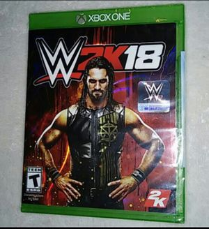 WWE 2K18 (New) for Sale in Moreauville, LA
