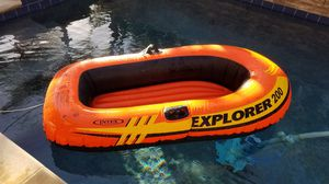 Explorer inflatable 2 person boat for Sale in Dana Point, CA