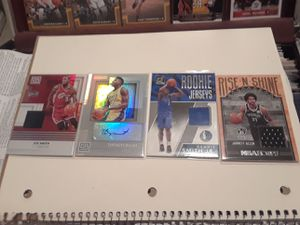 NBA FANS, DONT MISS THIS RARE SALE..2017/2018 Star Rookie cards, Memorabilia cards and more. for Sale in Tempe, AZ