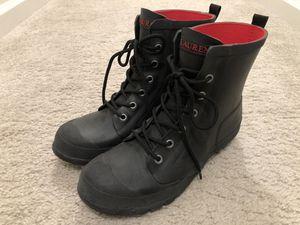 RALPH LAUREN Black Rain Boots (Women's Size 8) for Sale in Aldie, VA