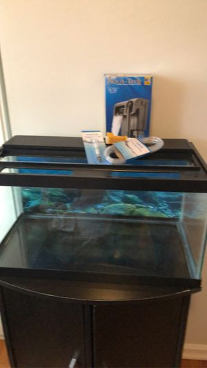 10g tank with filter for Sale in Broomfield, CO
