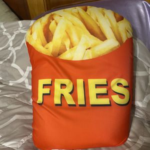 Squishy Fries pillow - bean bag filling for Sale in Canby, OR