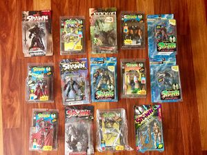 14 SPAWN ACTION FIGURES/ TOYS IN GOOD CONDITION. for Sale in Henderson, NV