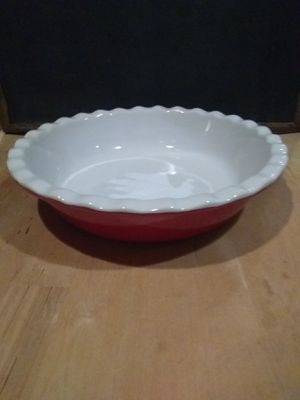 Kitchen works stoneware round dish for Sale in Woodlyn, PA