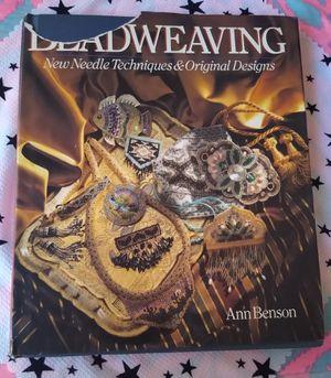 Beadweaving Book/ Libro Con Técnicas Para Coser Con Aguja for Sale in Los Angeles, CA