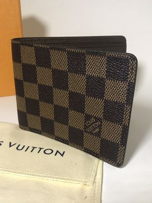 Louis Vuitton Brown Damier Ebene Wallet **Black Friday Sale for Sale in Queens, NY
