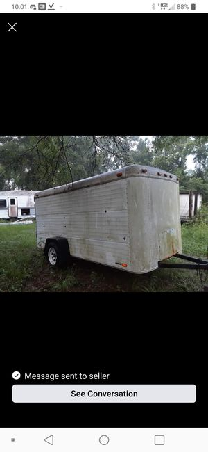 6x13 enclosed trailer for Sale in Lake Worth, FL