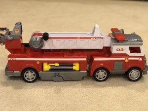 Paw patrol fire truck for Sale in Rockville, MD