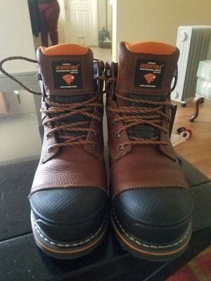 Work boots size 8.5 for Sale in Bakersfield, CA
