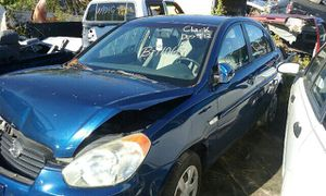 2007 HYUNDAI ACCENT, 1.6L, AUTOMATIC TRANSMISSION, PARTS ONLY, #B11068 for Sale in Riverview, FL