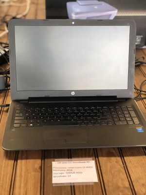Hp 250 G4 NoteBookPc for Sale in Arlington, TX