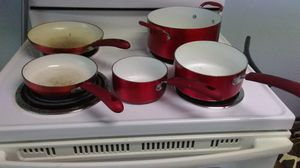 Red cooking pots and pans for Sale in Largo, FL